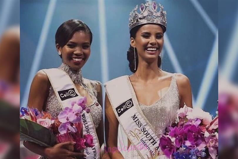 Thulisa Keyi is Miss World South Africa 2018