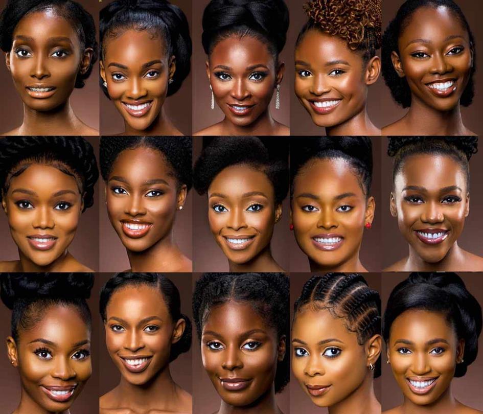 Miss Yobe Blessing Enuanwa Miss Kastina Adanma Nwachukwu Miss Kano Deborah Adaku Ezeh Miss Jigawa Perpetual Ukadike Miss Kebbi Funmilayo Akinjiola