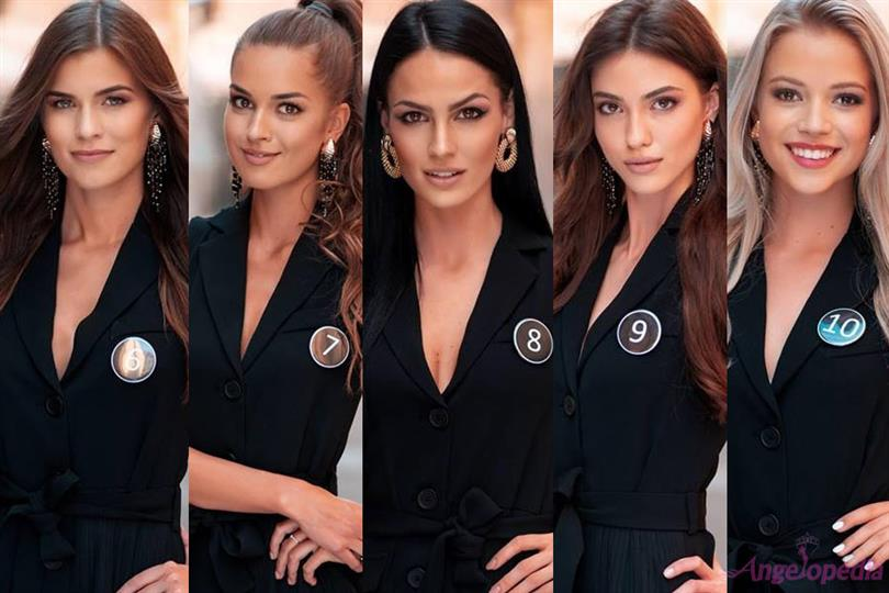 Miss Czech Republic 2018 Top 10 Finalists