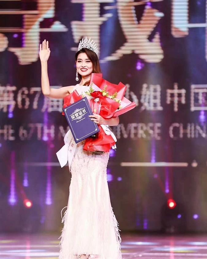 Meet Rosie Xin Zhu Miss Universe China 2019 for Miss Universe 2019