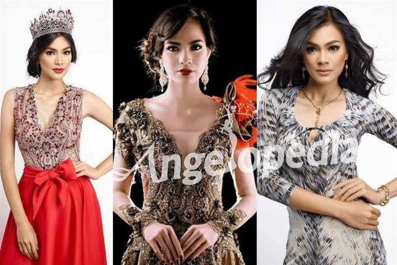 Kezia Roslin Cikita Warouw of Indonesia competing for Miss Universe 2016