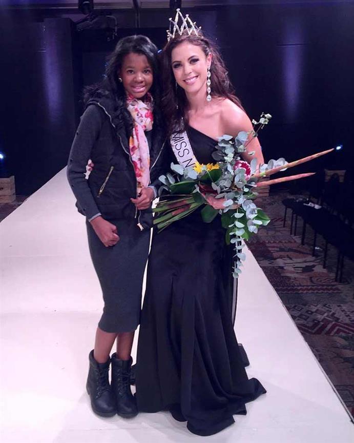 Nadja Breytenbach crowned Miss Namibia 2019