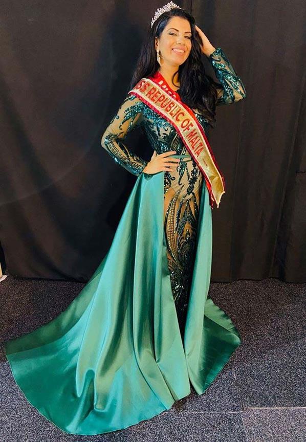 Natalya Galdes First Runner-up Miss Malta 2020
