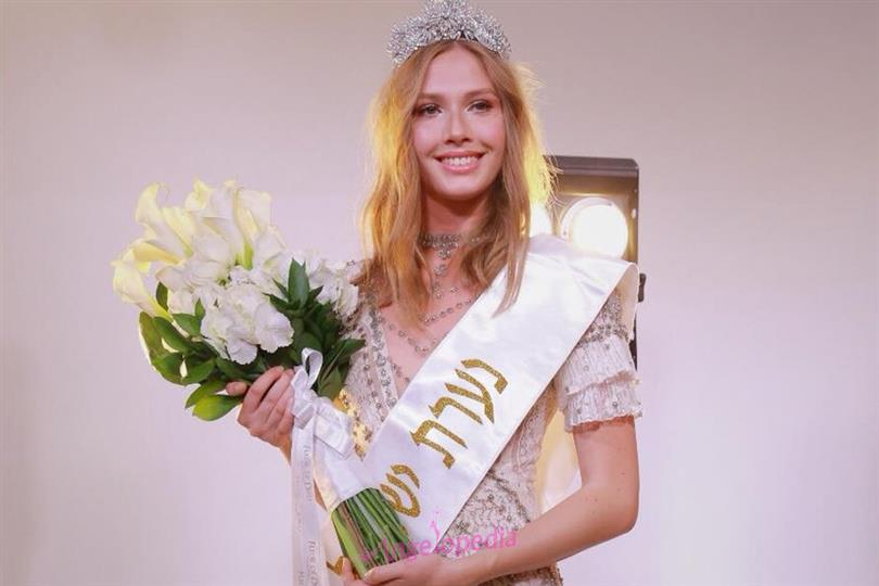 Michal Mordov crowned Miss World Israel 2018