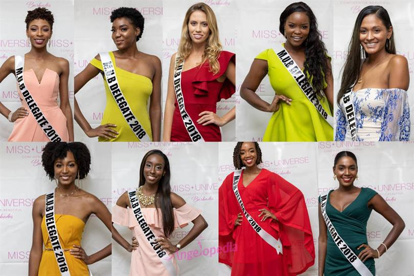 Miss Universe Barbados 2018 Meet the Contestants