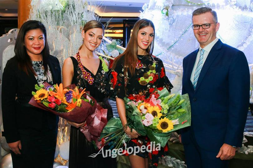 Demi-Leigh, Iris and other MU 2017 contestants start their Philippines Tour in style!