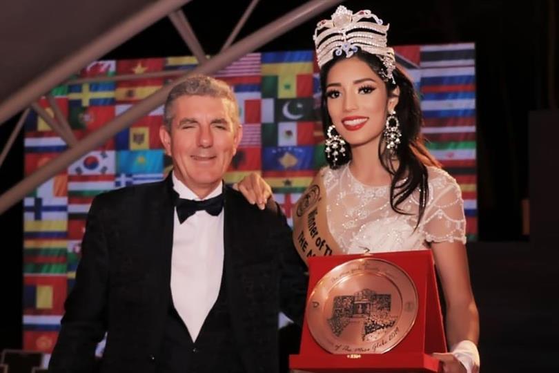 Alejandra Díaz de León of Mexico crowned The Miss Globe 2019