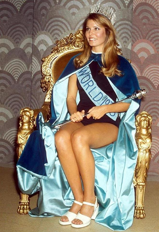 Marjorie Wallace – The first ever Miss World from the United States