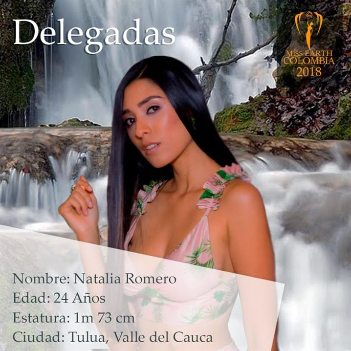 Natalia Romero – Fourteenth Delegate of Miss Earth Colombia 2018