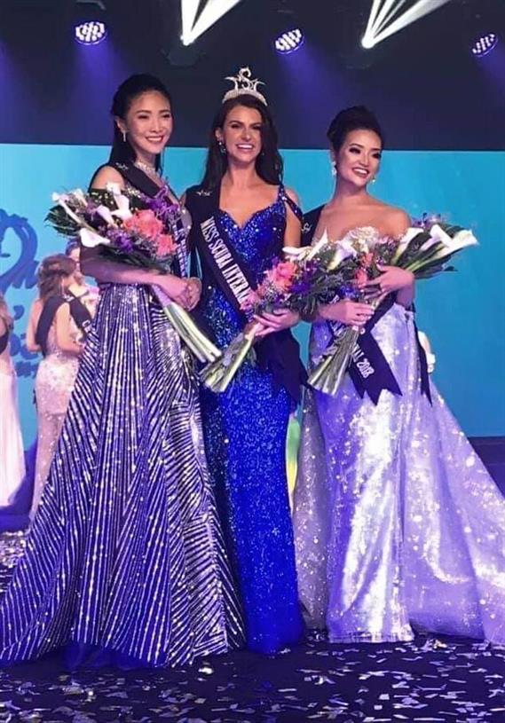 Daisy Hope Whetlor of United Kingdom crowned Miss Scuba International 2018