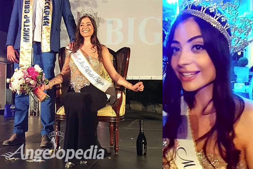 Galina Mihaylova crowned as Miss World Bulgaria 2016
