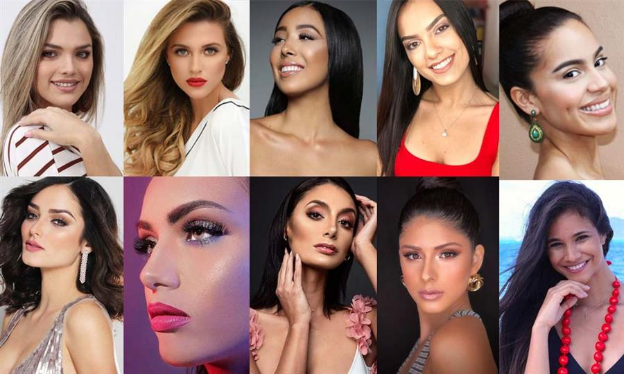 Official Press Presentation of Candidates of Miss Universe Puerto Rico 2019