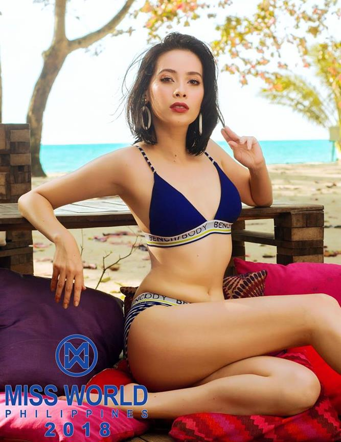 Miss World Philippines 2018 Top 10 Hot Picks Swimsuit Portraits by Angelopedia
