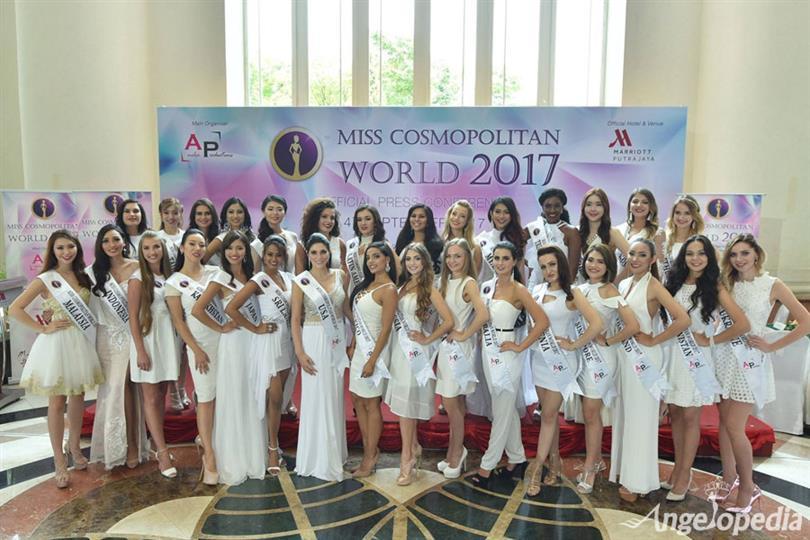 Miss Cosmopolitan World 2017-Meet the Contestants