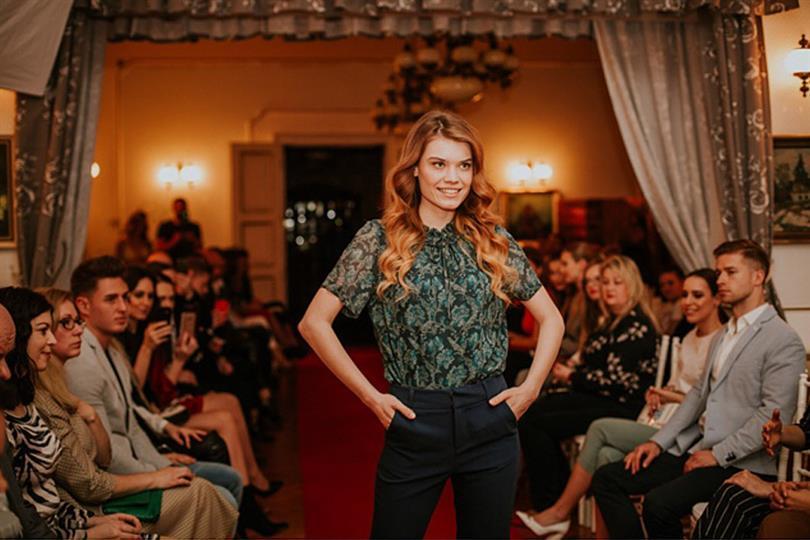 Miss Slovensko 2018 finalist Katarína Darášová's sunny smile