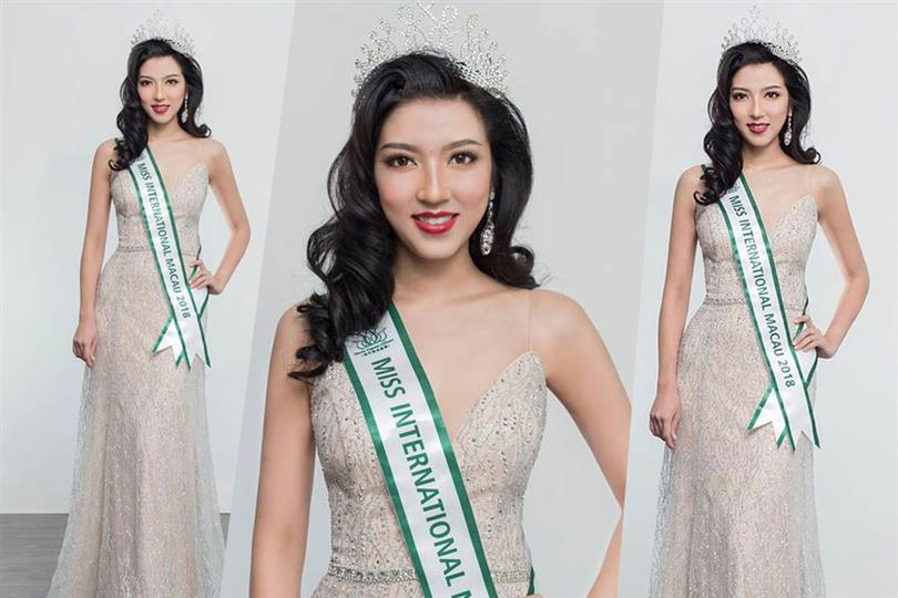 Cherry Chin appointed Miss International Macau 2018