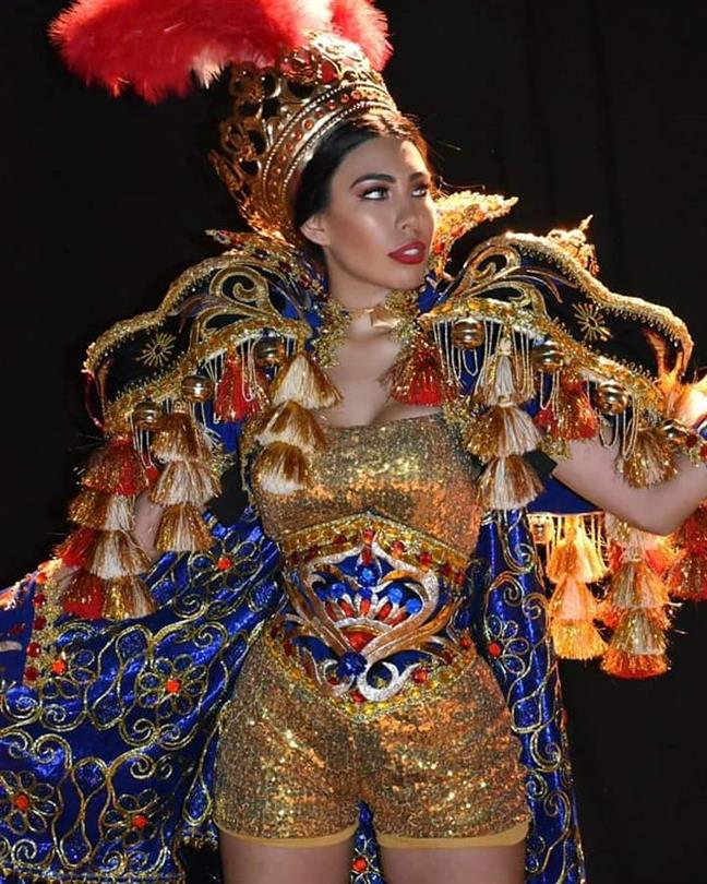 Giuliana Valenzuela from Peru takes home the award of Best in National Costume Competition