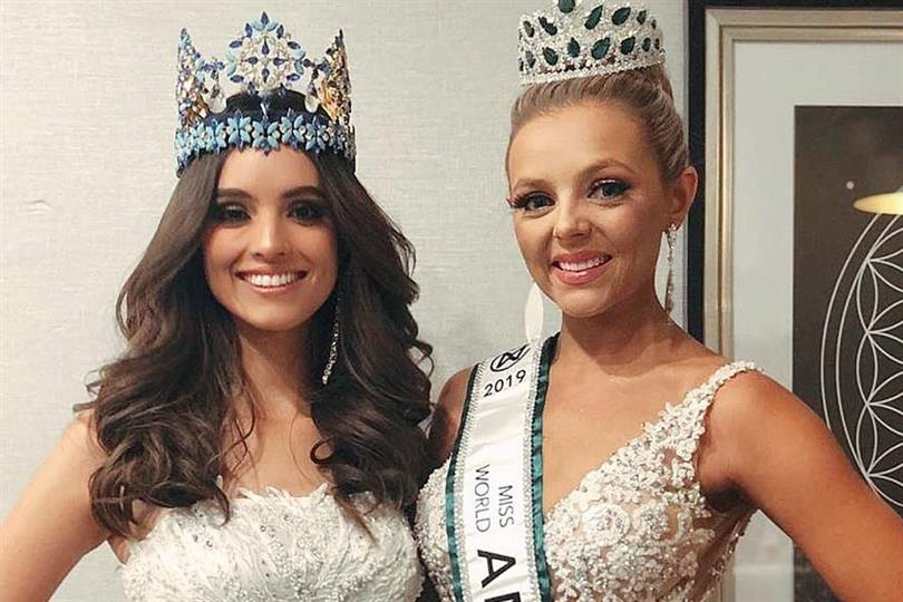 Emmy Rose Cuvelier of South Dakota crowned Miss World America 2019