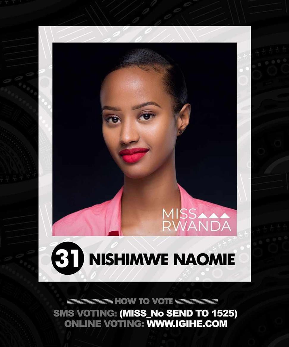 Miss Rwanda 2020 Top 5 Hot Picks