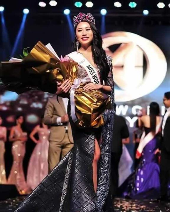 Alexis Sue-Ann crowned Miss World Malaysia 2019