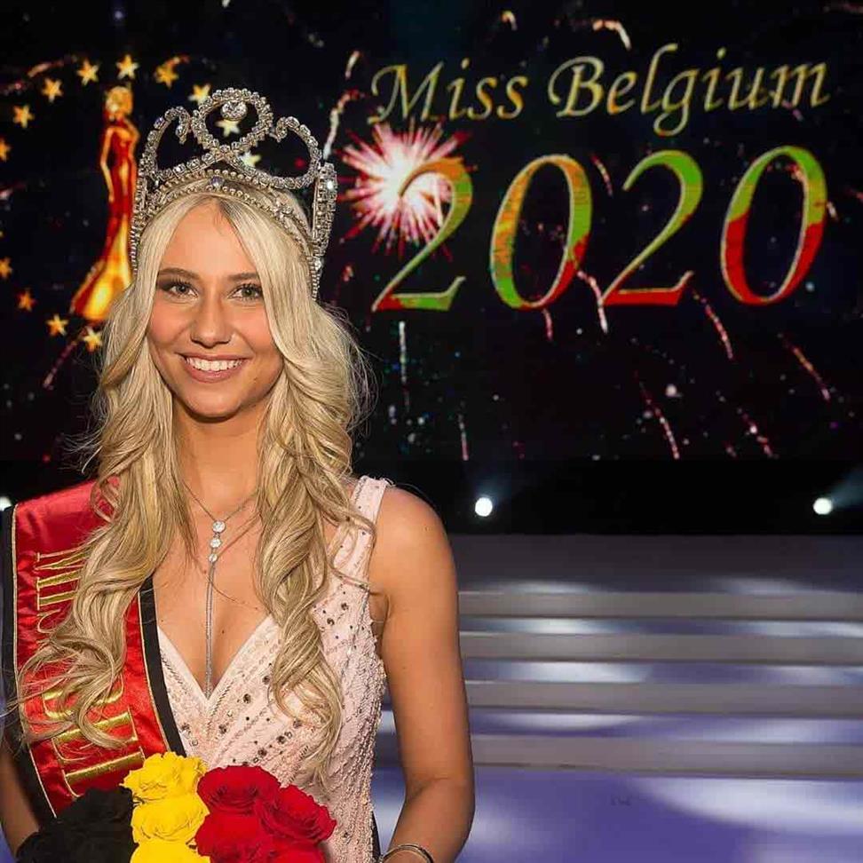 Celine Van Ouytsel crowned Miss Belgium 2020