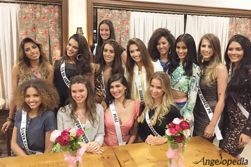 Miss Brasil Earth 2017 - Meet the contestants