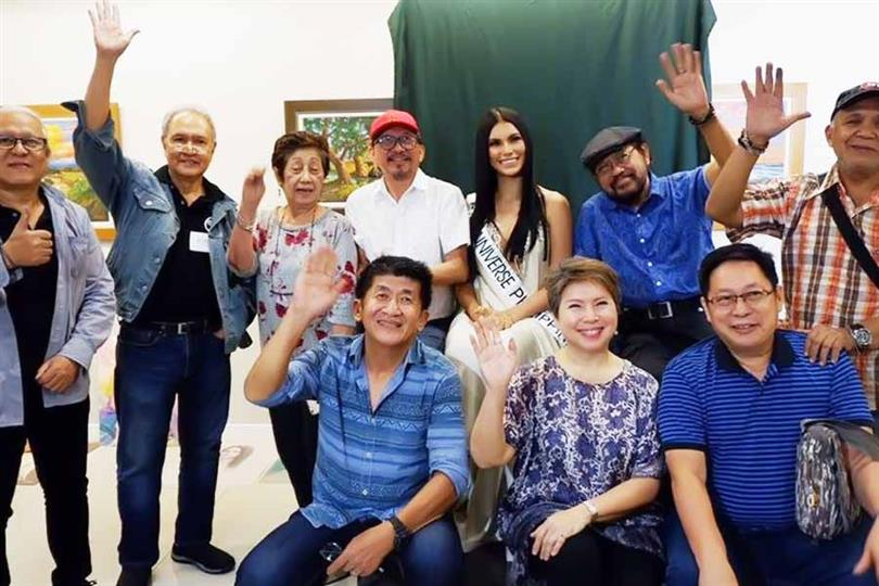 Filipina Gazini Ganados advocates elderly care for Miss Universe 2019