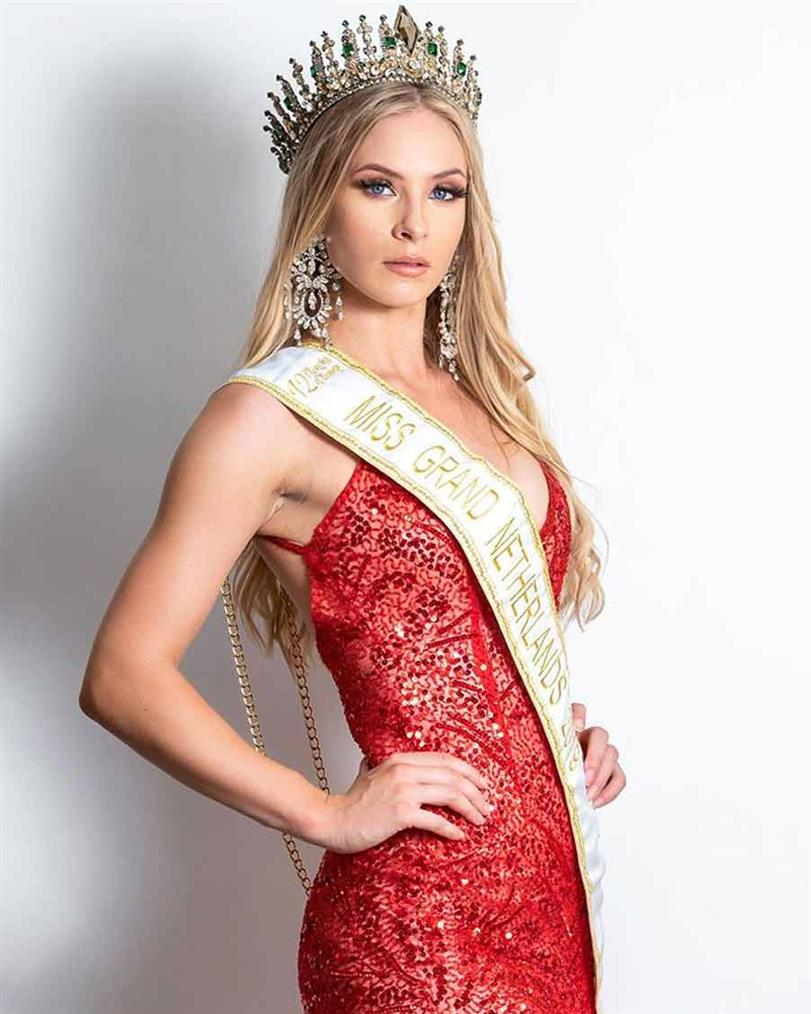Margaretha de Jong to represent Netherlands at Miss Grand International 2019