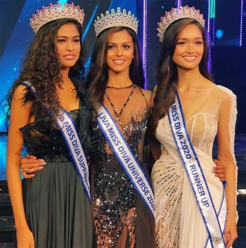 Adline Castelino crowned Miss Diva Universe 2020