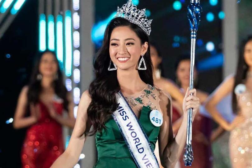 Luong Thùy Linh crowned Miss World Vietnam 2019