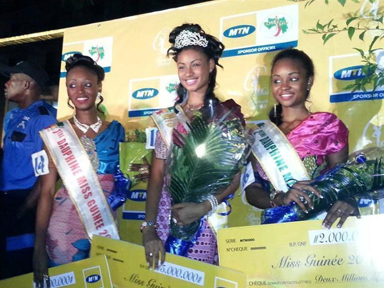 Miss Guinea 2015 Winners