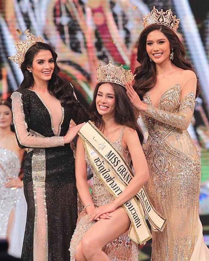 Arayha Suparurk crowned Miss Grand Thailand 2019