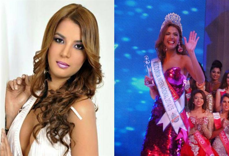 Faddya Isabel Halabi Troisi Miss Tourism International 2014