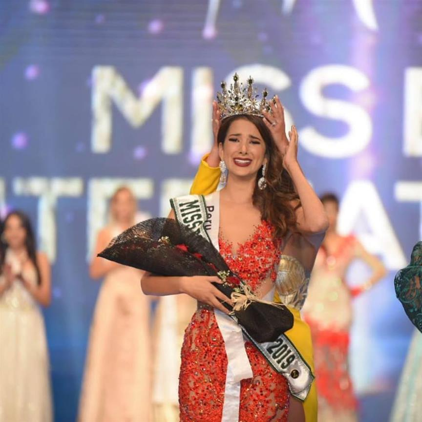 Suheyn Cipriani of Peru crowned Miss Eco International 2019