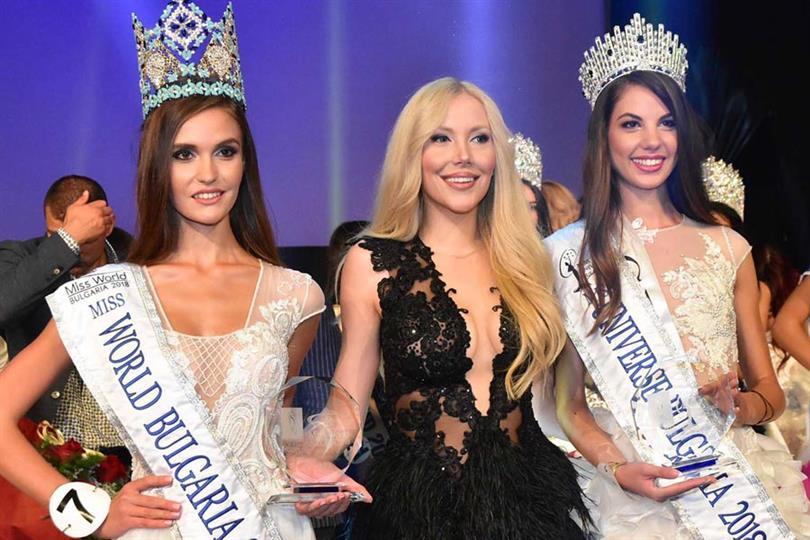 Miss Universe Bulgaria 2018 Gabriela Topalowa Miss World Bulgaria 2018 Kalina Miteva