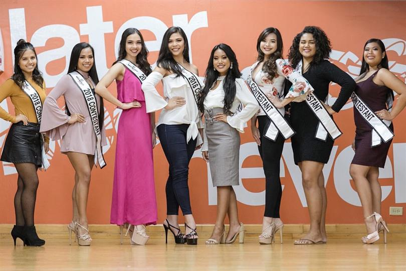 Miss World Guam 2018 Meet the Contestants