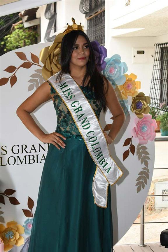 Sthefani Rodríguez appointed Miss Grand Colombia 2019