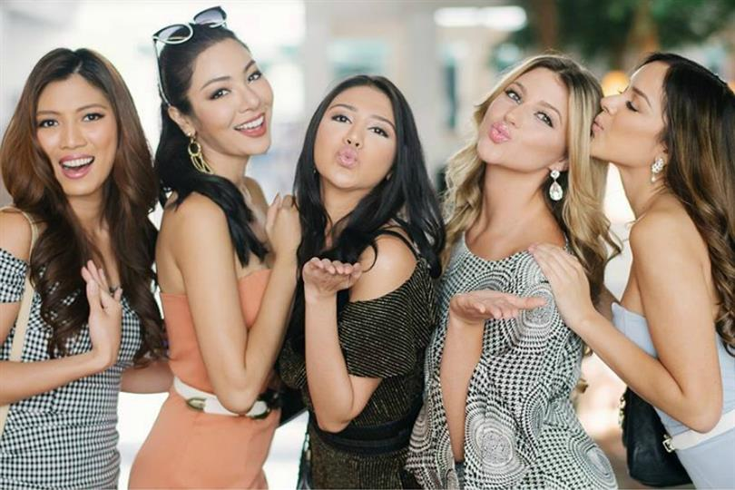 Miss Grand International 2016 Top 5 finalists reunite