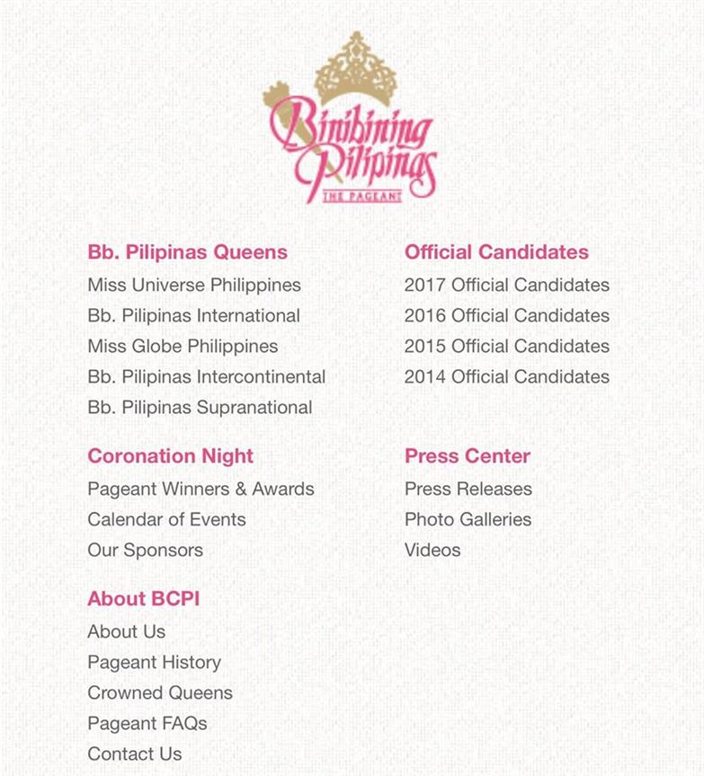 Has Binibining Pilipinas dropped Miss Grand International franchise?