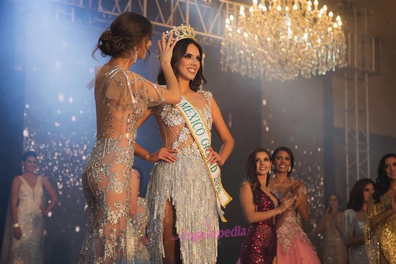 Lezly Díaz crowned Miss Grand Mexico 2018