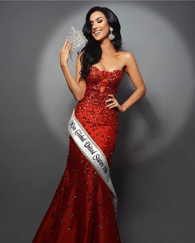Pamela Lee Urbina Miss Global USA 2018, our favourite for Miss Global 2018