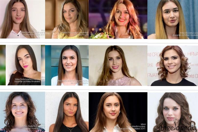 Meet the contestants of Miss World Croatia 2017