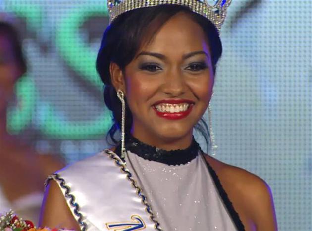 Laurie-Ann Chin Miss Jamaica World 2014