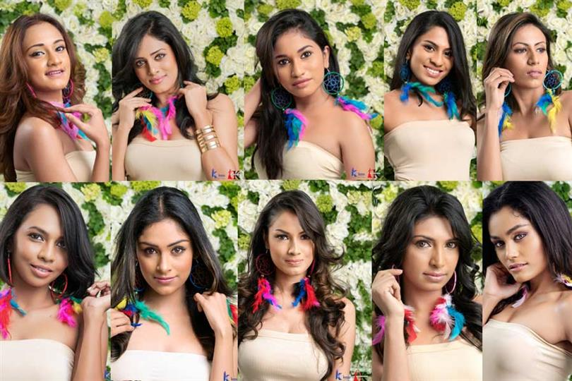 Miss Grand Sri Lanka 2018 Top 14 finalists revealed