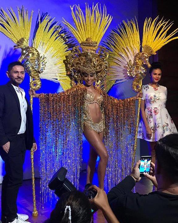 Keythlin Aleman reveals her National Costume as she prepares for Miss Supranational 2018