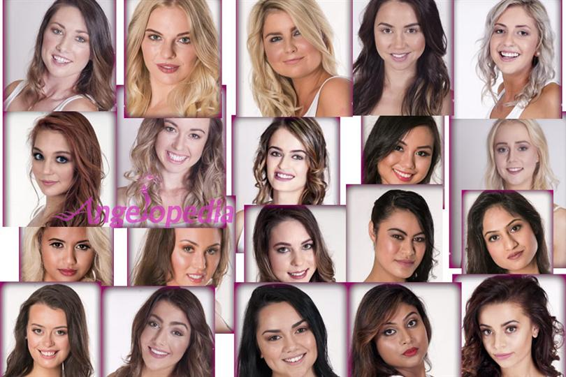Miss Universe New Zealand 2016 Top 20 Finalists Announced