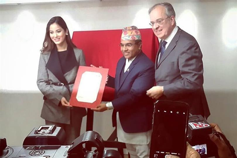 Shrinkhala Khatiwada appointed as the Nepal-France Goodwill Ambassador