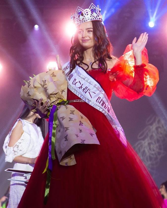 Liana Voskerchyan crowned Miss World Armenia 2019 for Miss World 2019