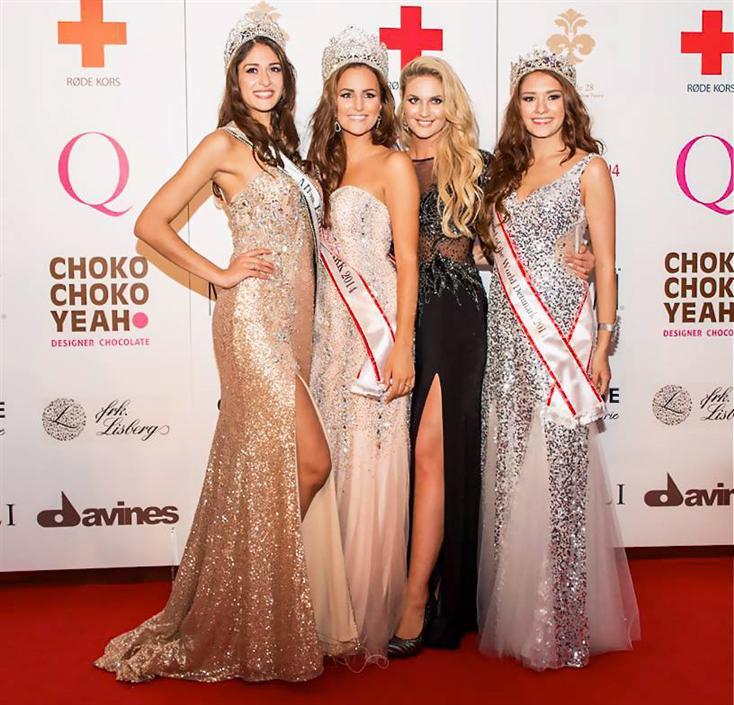 Miss Denmark World 2014 Winners