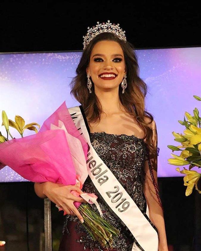 Camila Canto winner Mexicana Universal Puebla 2019